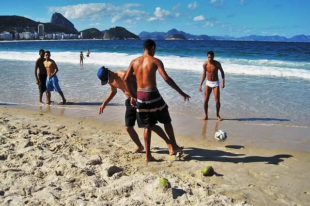 Sole spiaggia abbronzare
